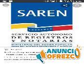 Servicio Asesoría tramite Registro mercantil reserva nombre empresa o firma personal